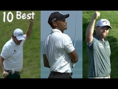 Top 10 Best Golf Shots from 2015 PGA Championship