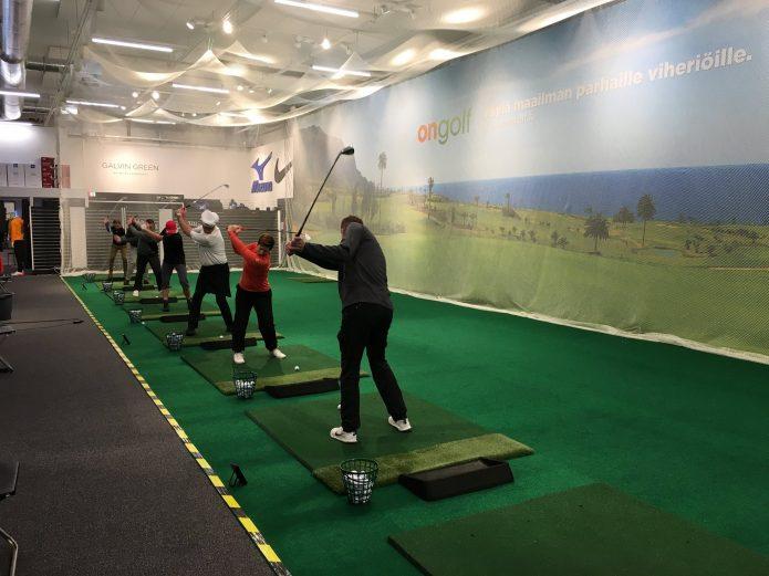 Tapiolan Golfkeskukseen on avattu uusi talviharjoittelukeskus.