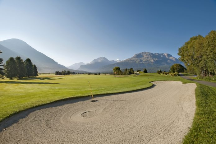 Alppigolfia  parhaimmillaan - St. Moritz ja Engadin Golf Club