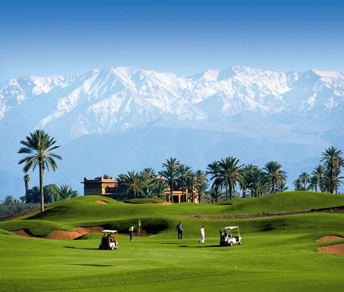Marrakech –Korkeatasoinen golfkeidas Afrikassa