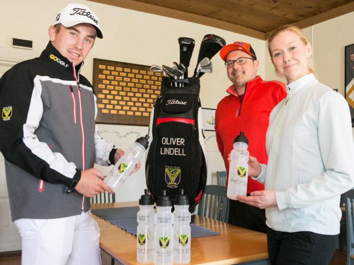 Oliver Lindell perusti oman golfkoulun