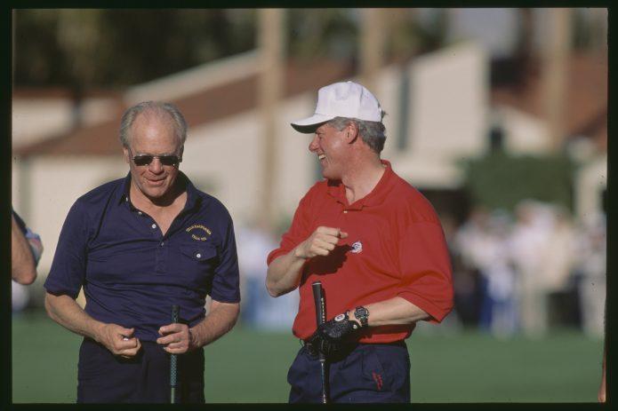 Golf on presidentillinen harrastus - osa 2.