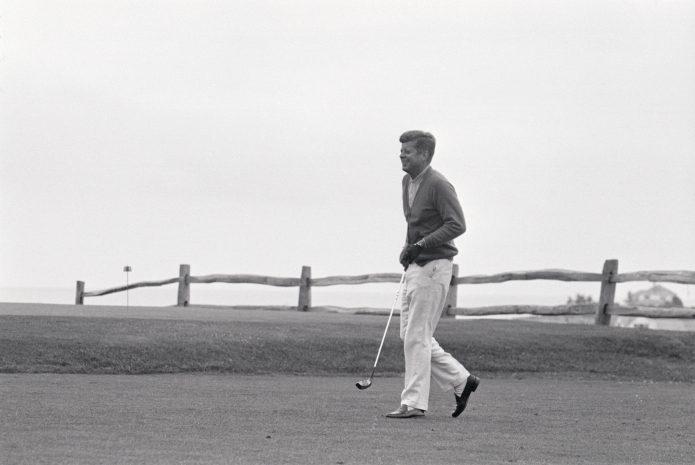Golf on presidentillinen harrastus - osa 1.