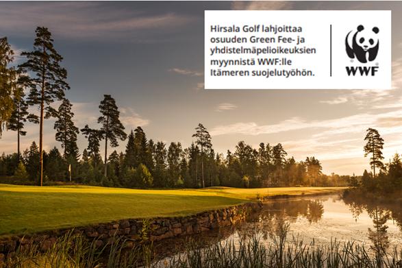 SUOJELUSYYSKUU – Hirsala Golf ja WWF Suomi yhteistyöhön